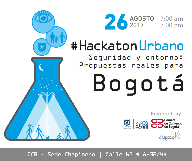 Inscríbete al primer Hackaton de seguridad ciudadana de Bogotá
