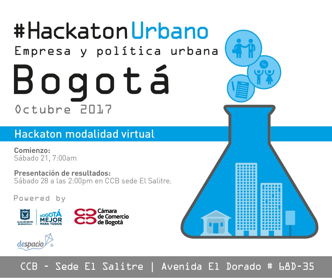 Inscripciones #HackatonUrbano: Empresa y política urbana