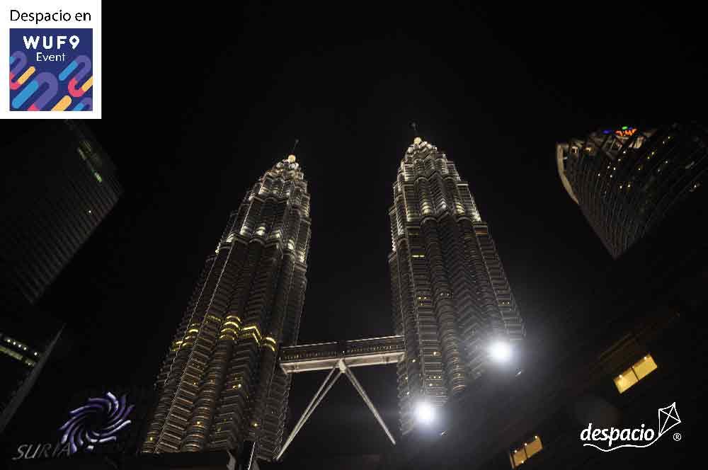 Nos vamos para Kuala Lumpur