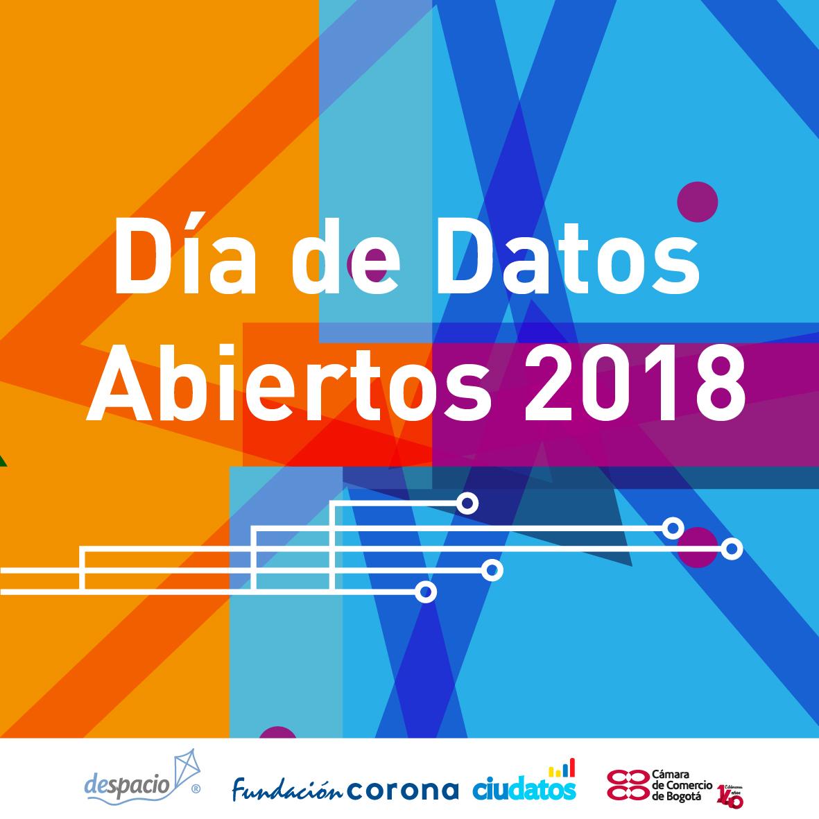 Día de datos abiertos Despacio, Cámara de Comercio de Bogotá y Fundación Corona
