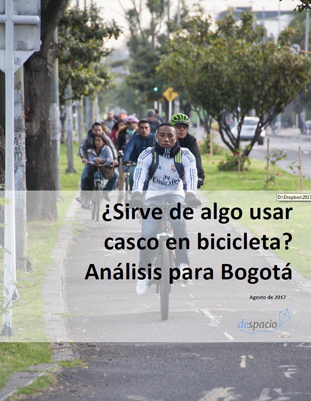 ¿Sirve de algo usar casco en bicicleta? Análisis para Bogotá
