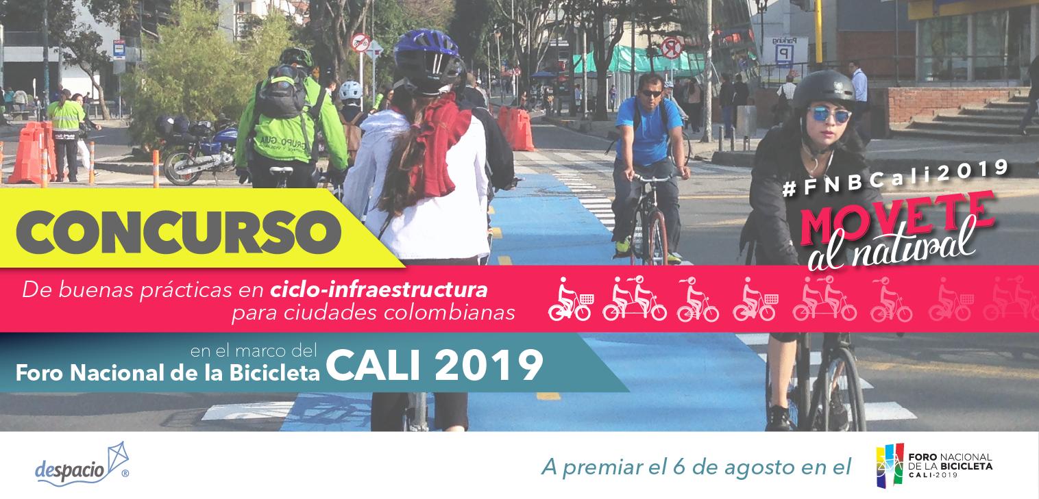 Concurso de buenas prácticas en ciclo-infraestructura para ciudades colombianas