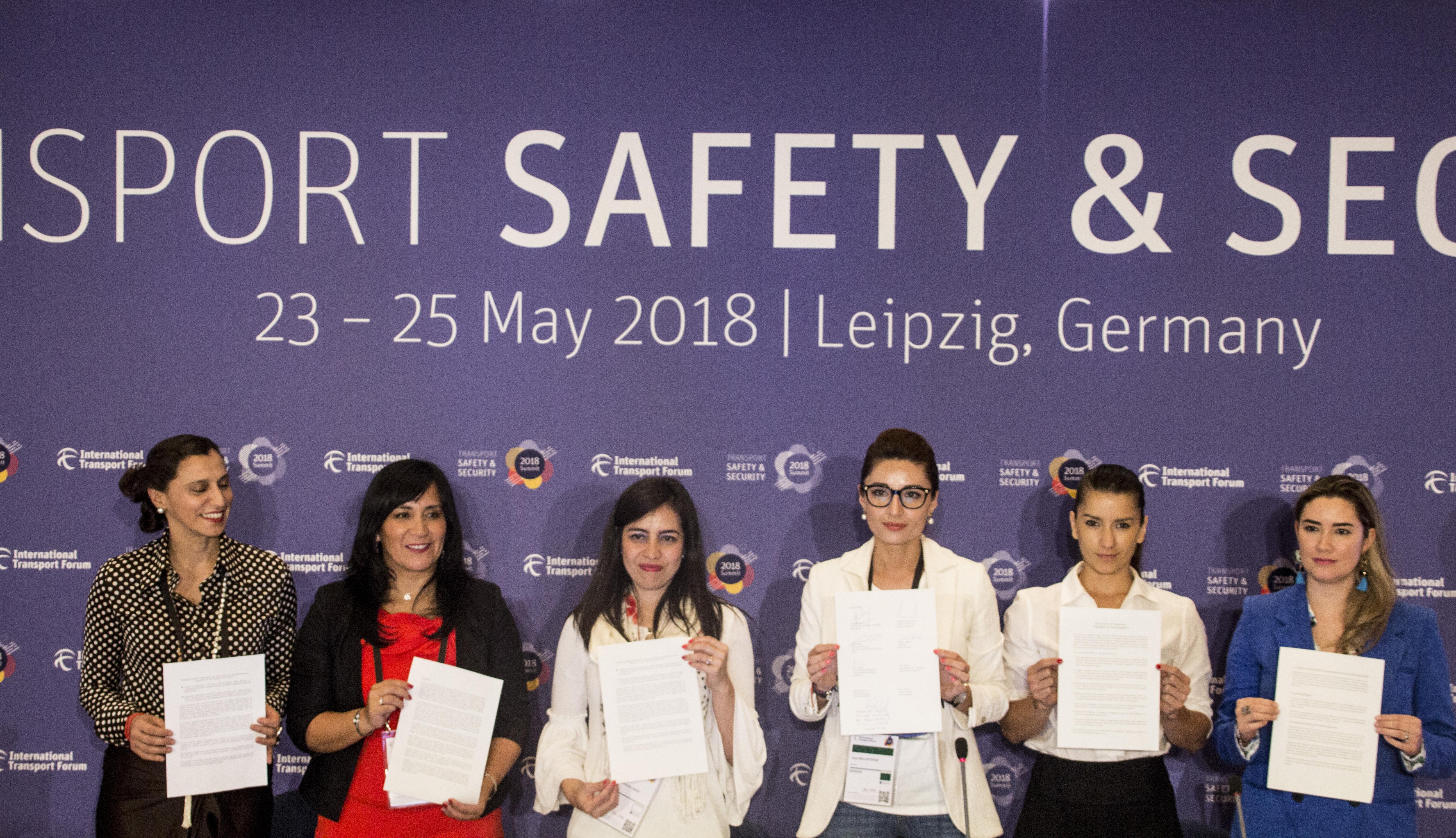 Mujeres en Movimiento en la Sexta Conferencia Internacional sobre Mujeres en Transporte
