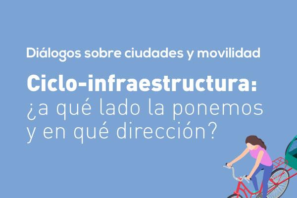 Ciclo-infraestructura: ¿a qué lado la ponemos y en qué dirección?