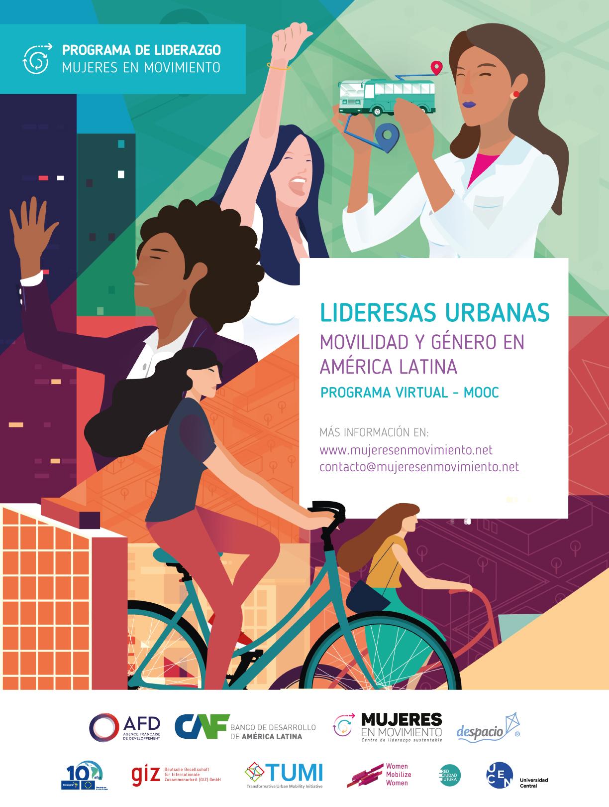 Lideresas Urbanas: Un Programa Virtual Para 60 Mujeres Líderes De Iberoamérica