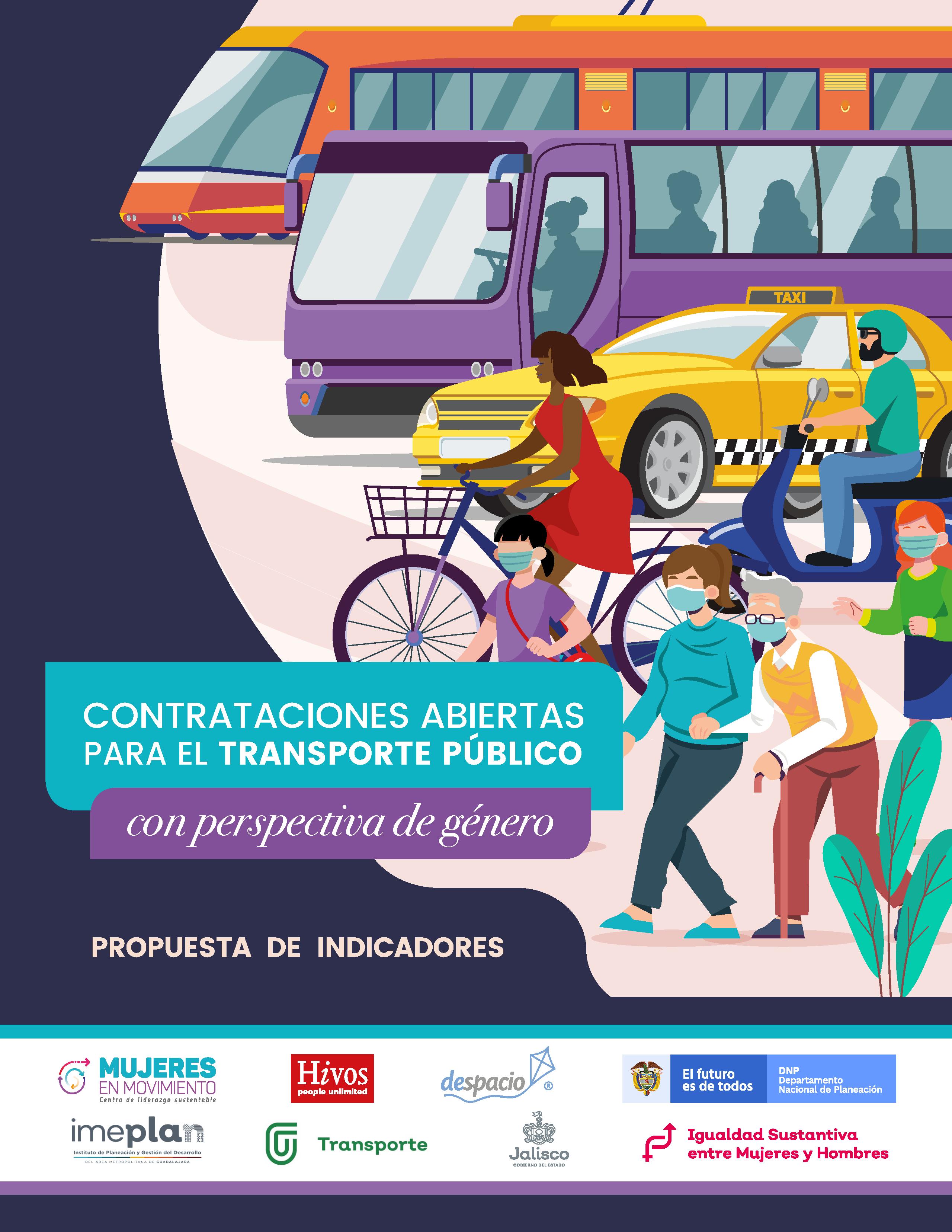 Contrataciones abiertas del transporte público con perspectiva de género